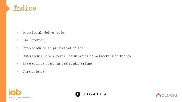I Estudio sobre Ad Blockers en España de IAB Spain 2016 Slide 2