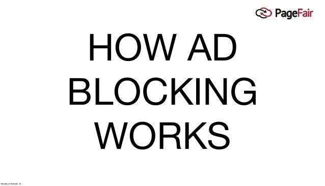 Ad blocking presentation at World Publishing Expo 2015 (Hamburg) Slide 2