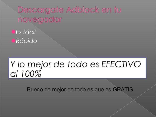 Adblock presentation Slide 2