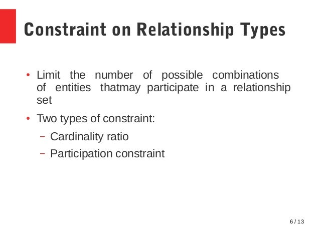 Relationship Types of degree higher than 2