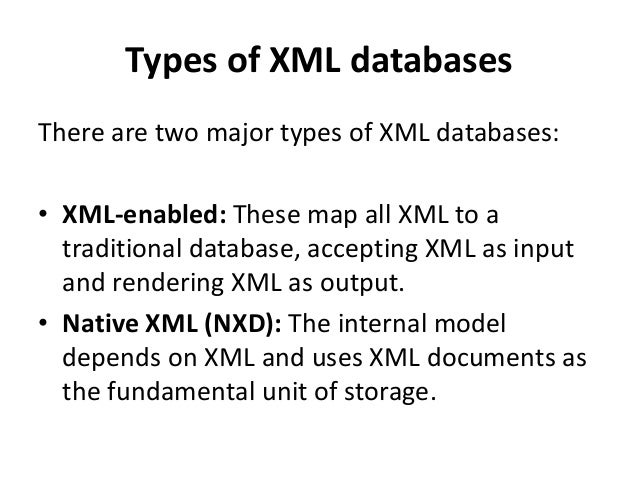 """XML document rules • A """"well formed"""" XML doc has to have correct XML syntax and they are : – Must start with a n XML decla..."""