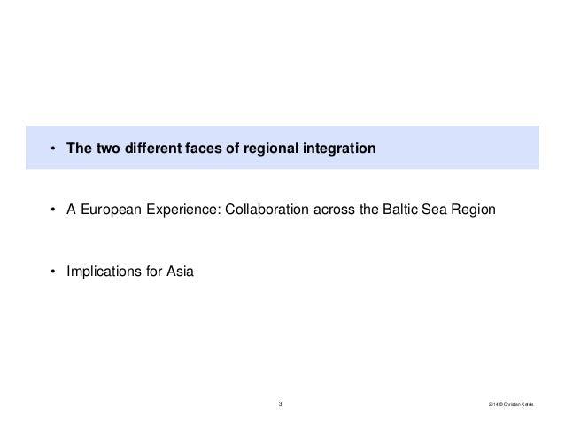 Regional Integration: European Lessons for Asia? Slide 3