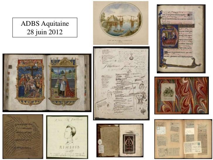 ADBS Aquitaine 28 juin 2012
