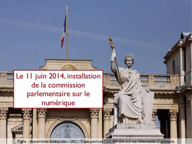 Paris - Assemblée Nationale – 001 / Thesupermat / CC-BY-SA-3.0 via Wikimedia Commons Le 11 juin 2014, installation de la c...
