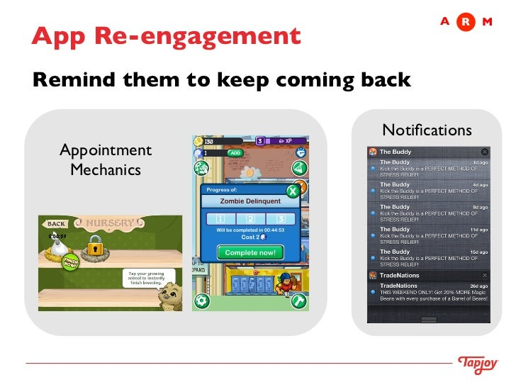 Tapjoy не видит приложение на андроид
