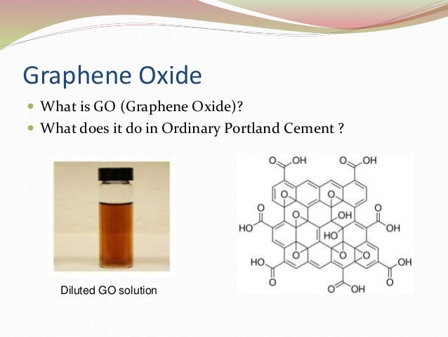 Graphene Oxide Reinforced Portland Cement