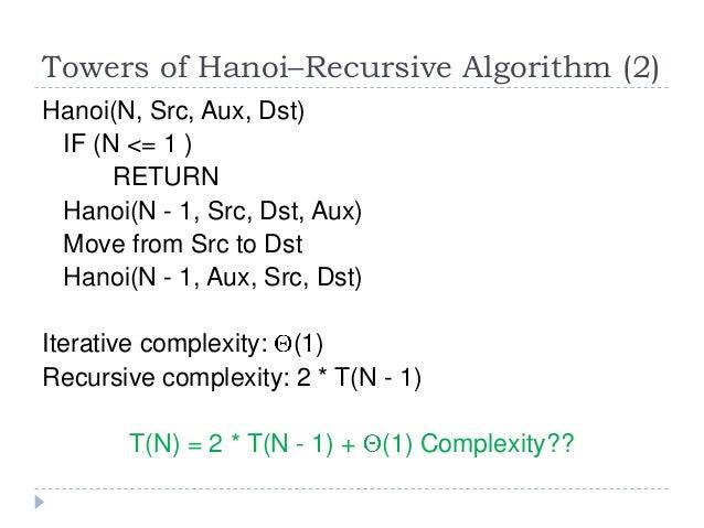 Solution for Tower of Hanoi C++