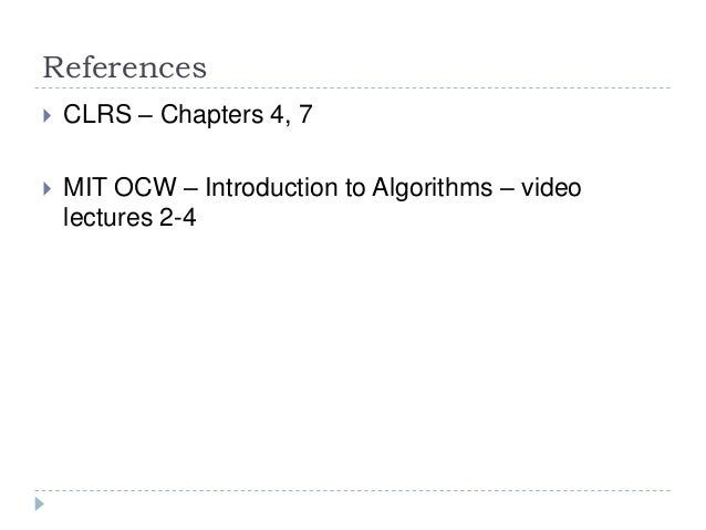 mit opencourseware algorithms dynamic programming Introduction to c++ (mit's opencourseware)онлайн- курс learn  data structures and algorithms with object- oriented design  java programming for.