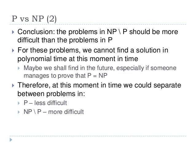 a solution of the p versus np problem pdf