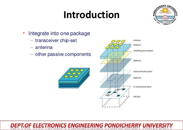 Antennas Design And Packaging For Millimeter Wave Phased
