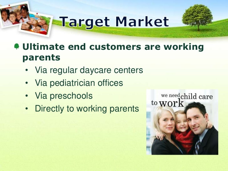 Daycare sample business plan