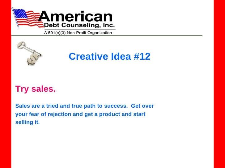 creative sales jobs