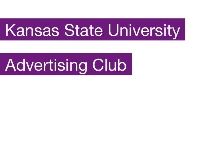 Advertising Club Kansas State University