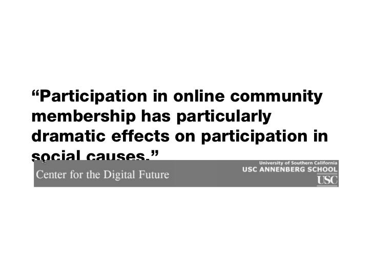 Social Media for Social Good Slide 2