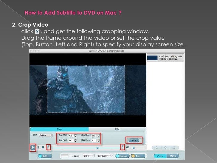 How to add subtitle to dvd on mac 3 2 ccuart Image collections