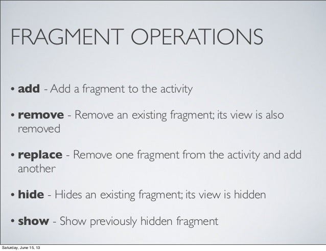 how to add fragment to activity