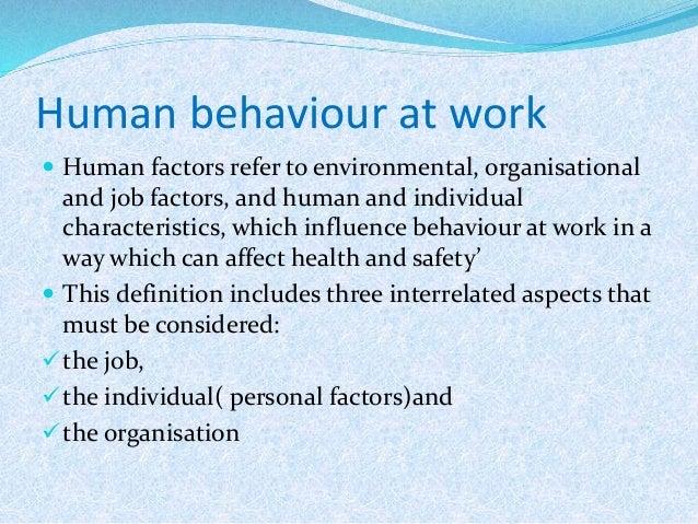 environmental influences on behavior examples