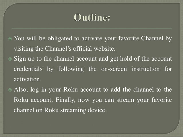Add and remove your favorite channels on roku
