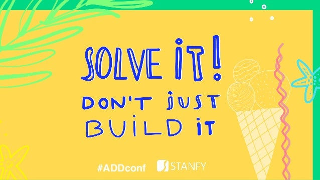#addconf SOLVE ! #ADDconf