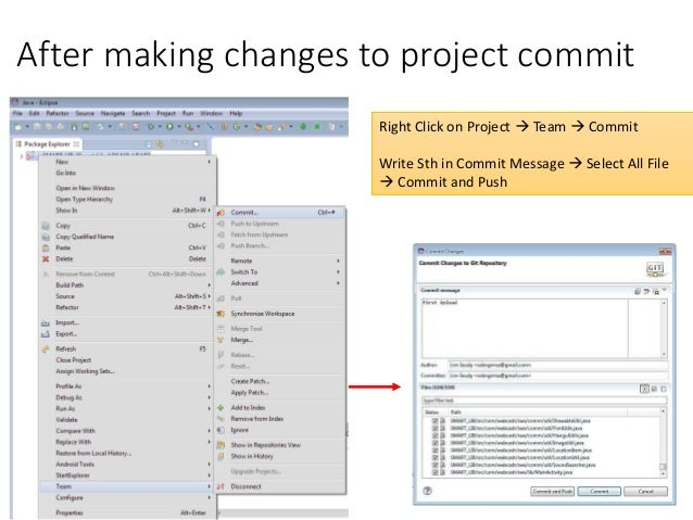 Add eclipse project with git lab