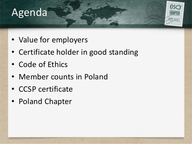 Added value of certification