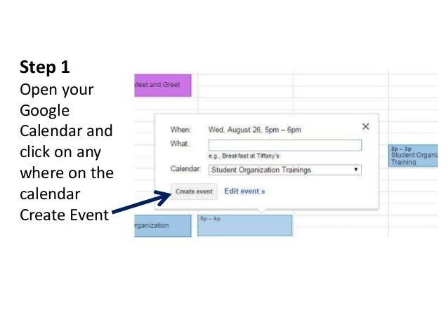 Google Share Calendar With Organization : How to add events winthrop s student organization calendar