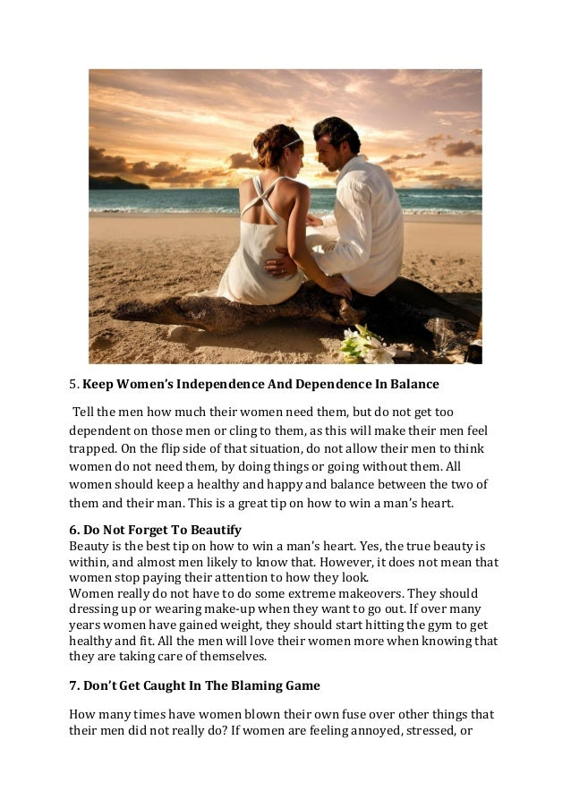 Learn How To Win A Mans Heart With Simple And Effective Tips
