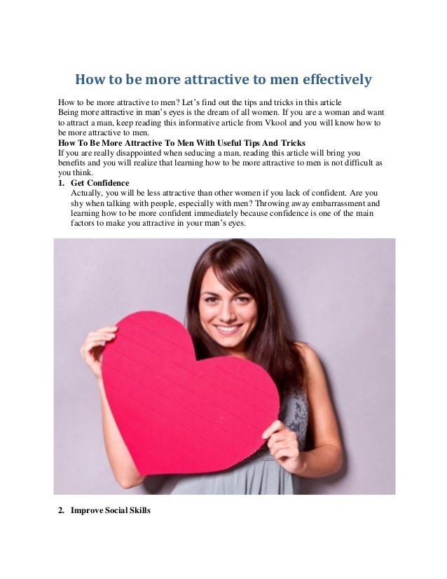 How to talk attractively