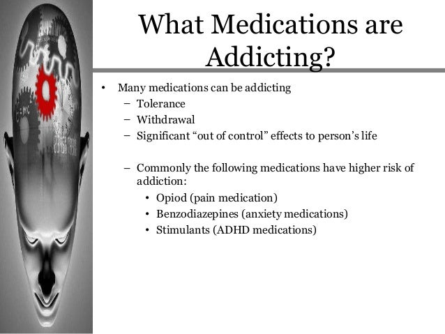 Addiction and Commonly Abused Medications