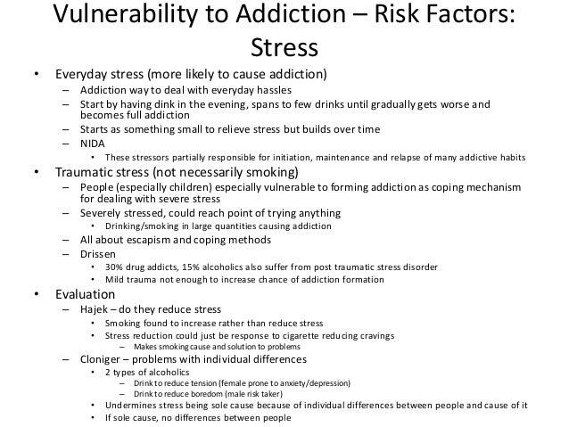A2 psychology addiction gambling virginia gamble