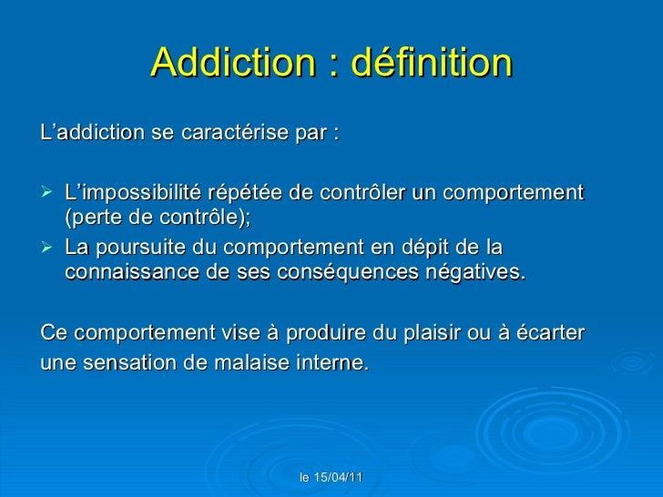 Definition Of Addiction