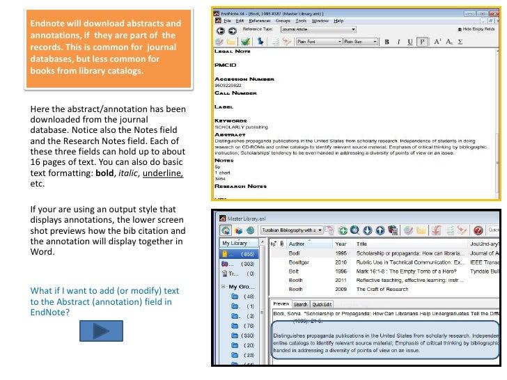 adding a pdf to endnot
