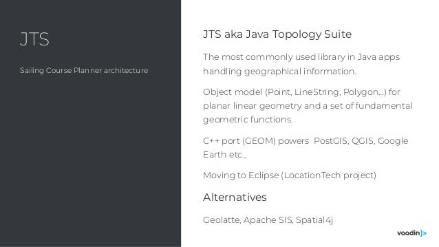 Adding geospatial features to a java web app