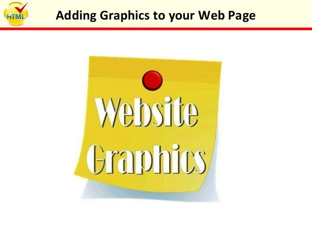 Adding Graphics to your Web Page