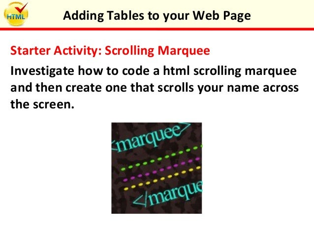 Html code for scrolling marquee phpsourcecode net - How to create table in html code ...