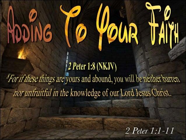 2 Peter 1:1-11