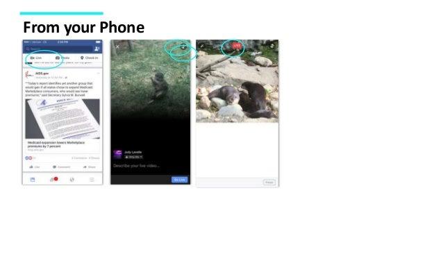Adding to Your Social Media Toolbox: Facebook Live 101 Slide 21