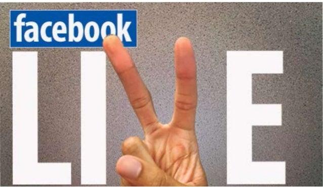 Adding to Your Social Media Toolbox: Facebook Live 101 Slide 3
