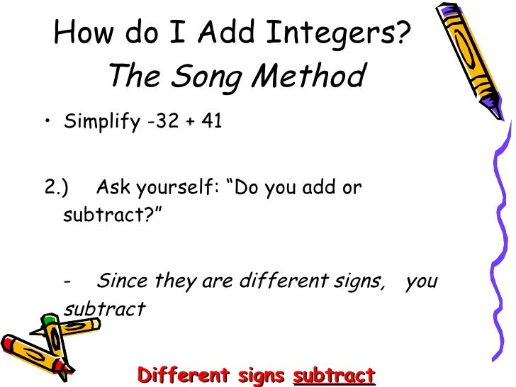 Subtract integers using number lines | LearnZillion