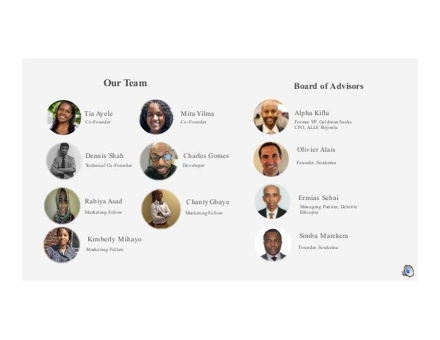 Co-Founder Technical Co-Founder Former VP, Goldman Sachs CFO, ALLE Bejimla Co-Founder Developer Managing Partner, Deloitte...