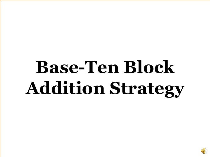 Addition base ten_strategy_narrated