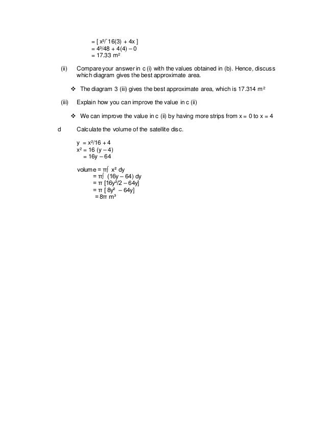 answer for additional mathematics project 2 How to answer question number 2 for additional mathematics project work form 5 2007.