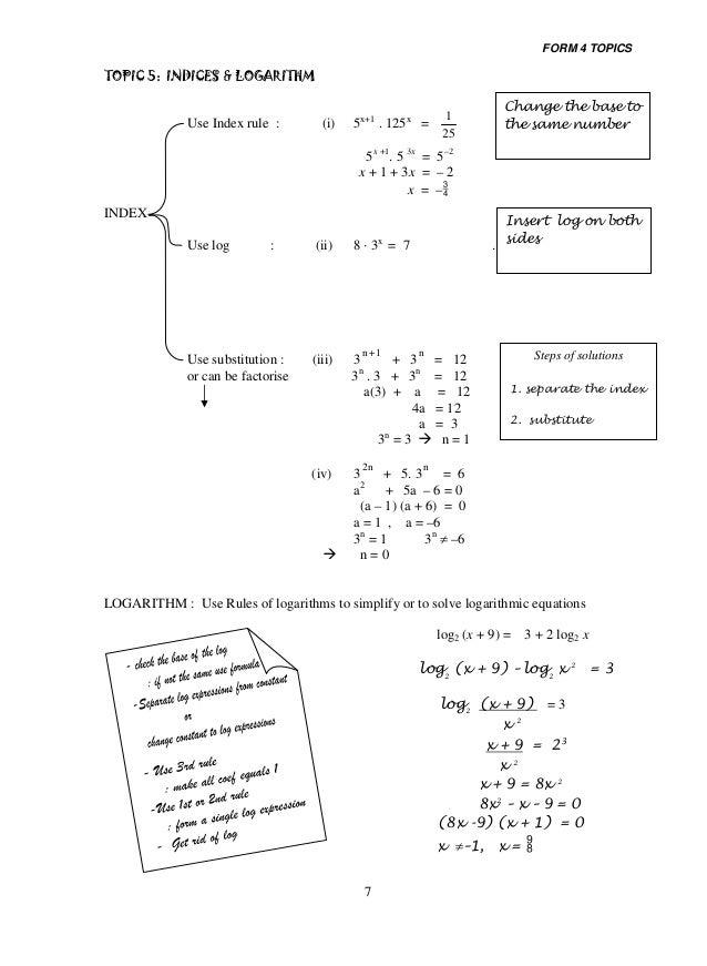 Add maths module form 4 & 5