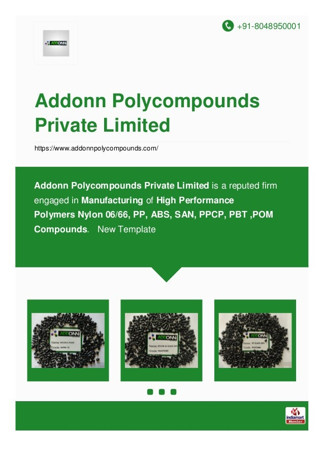 +91-8048950001 Addonn Polycompounds Private Limited https://www.addonnpolycompounds.com/ Addonn Polycompounds Private Limi...