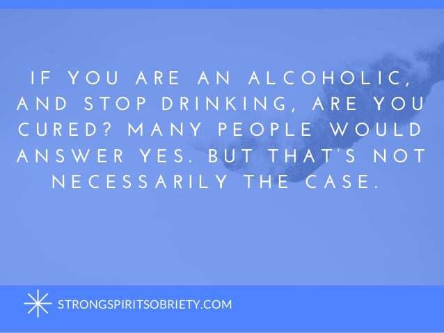 Addressing Dry Drunk Anger Slide 2