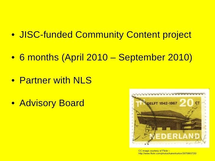 AddressingHistory - Crowdsourcing historical data and maps Slide 2