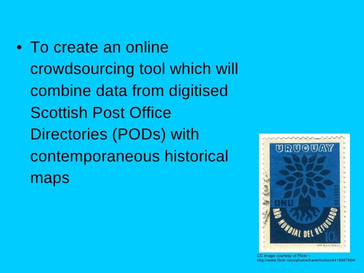 AddressingHistory - Crowdsourcing historical data and maps Slide 3