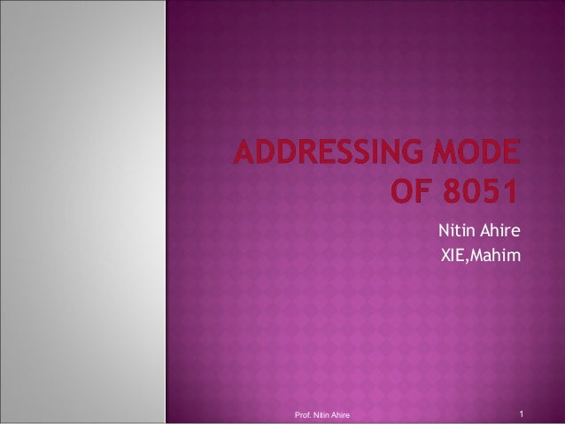 Nitin Ahire XIE,Mahim Prof. Nitin Ahire 1