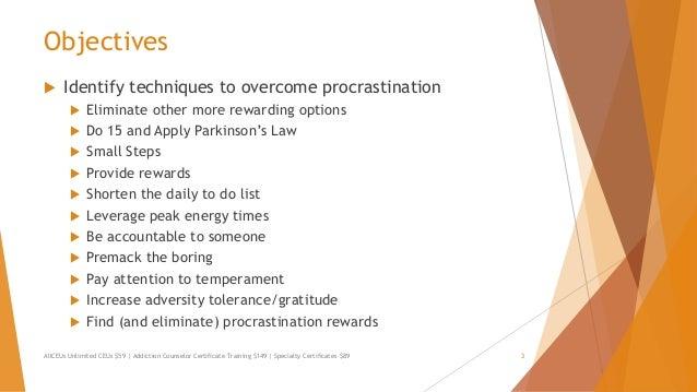 procrastination essay conclusion