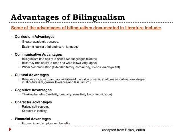 bilingualism and cognitive ability